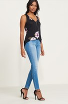 Dynamite Kate Light Wash High Rise Skinny Jean