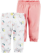 Carter's 2-pk. Pants - Baby Girls newborn-24m