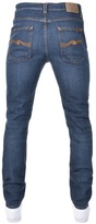 Nudie Jeans Lean Dean Straight Slim Fit Jeans Blue