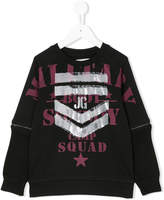 John Galliano printed sweatshirt