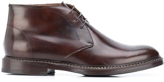 Brunello Cucinelli Lace-Up Desert Boot