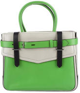 Reed Krakoff Coloblock Leather Boxer Tote
