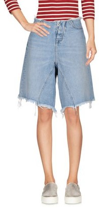 Taverniti So BEN UNRAVEL PROJECT Denim bermudas