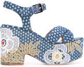 Laurence Dacade Helissa woven platform sandals