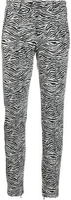 Cambio Zebra Print Tailored Trousers