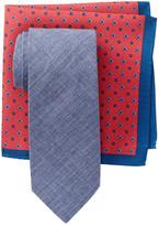 Alara Acworth Solid Tie & Pocket Square Box Set