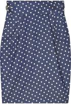 ALICE by Temperley Polka-dot buckle skirt