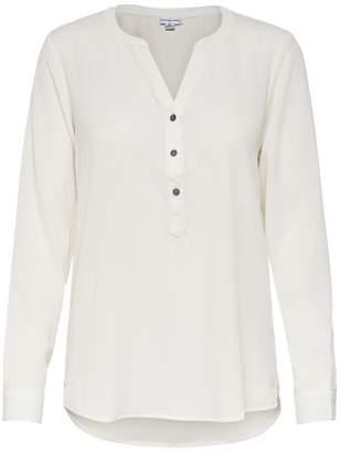 JDY Womens V neck Blouse - White