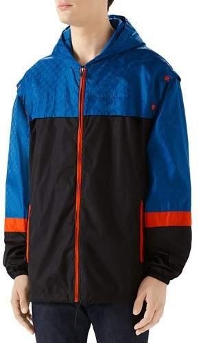 ccdcadf4f Gucci Mens Nylon Jacket - ShopStyle