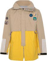 adidas x Pharrell Williams patch embellished jacket