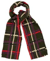 Dries Van Noten Wool Patterned Shawl