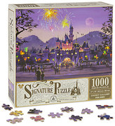 Disney Sleeping Beauty Castle Hong Kong Disneyland Resort Jigsaw Puzzle