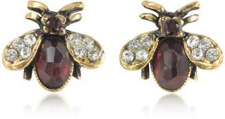 Alcozer & J Moschina Earrings w/Garnet