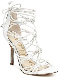 Sam Edelman Women's Adella Knotted Strappy High Heel Sandals