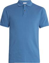 Sunspel Cotton-piqué polo shirt