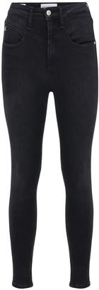 Calvin Klein Jeans High Waist Super Skinny Jeans