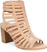 American Rag Sanchie Block-Heel Sandals, Only at Macy's