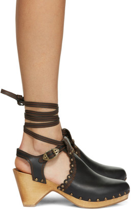 Isabel Marant Black Tulee Heels