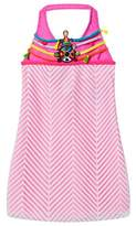 Pate De Sable Pink Hippie Beaded Sundress