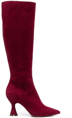 L'Autre Chose Pointed Knee-High Boots