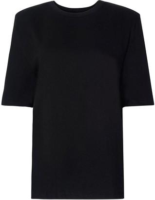The Frankie Shop Sean Cotton Jersey Mini Dress