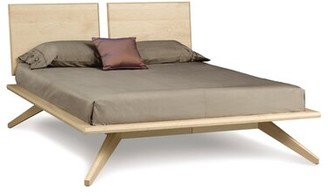 Copeland Furniture Astrid Solid Wood Platform Bed Size: Queen, Color: Bright White Maple