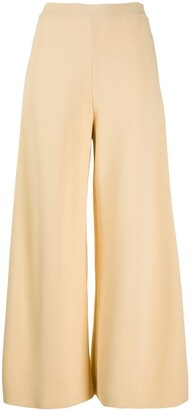 Stella McCartney Side-Slit Knitted Trousers