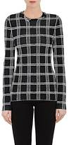 Proenza Schouler WOMEN'S PLAID COMPACT KNIT SWEATER