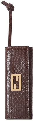 Fendi engraved comb and holder