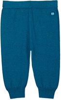 The Bonnie Mob Stockinette-Stitched Cotton-Cashmere Pants-GREEN