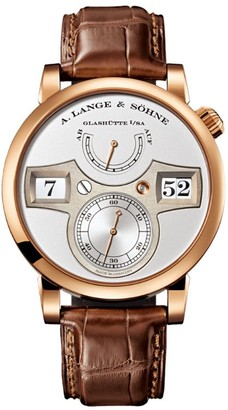 A. Lange & Söhne Rose Gold Zeitwerk Striking Time Watch 41.9mm