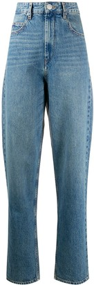 Etoile Isabel Marant High Rise Tapered Jeans