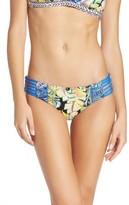 Maaji Women's Seaside Pixel Reversible Bikini Bottoms
