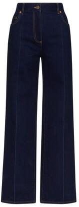 Valentino Flared Cotton Jeans