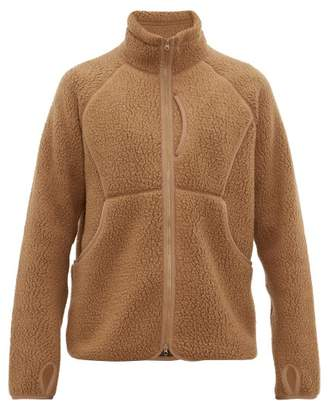Snow Peak Zip Through Technical Fleece Jacket - Mens - Khaki
