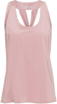 Thumbnail for your product : Lanston Twist-back Stretch-jersey Tank