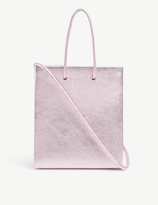 Medea Short leather cross-body tote bag