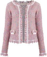 Cecilia Prado knit cardigan - women - Acrylic/Lurex/Polyamide - P