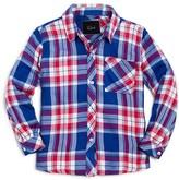 Rails Girls' Plaid Twill Shirt - Little Kid, Big Kid
