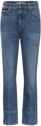Valentino high-rise straight jeans
