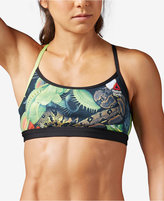Reebok CrossFit Printed Racerback Medium-Impact Sports Bra