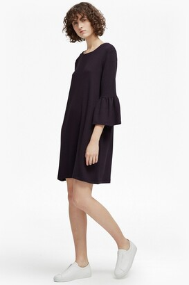 French Connection Paros Sudan Flared Sleeve Dress