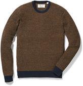 Original Penguin Waffle Crew Neck Sweater
