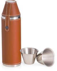 Bey-Berk Bey Berk Stainless Steel Cylinder Flask w/ Cups