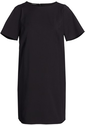 Lafayette 148 New York, Plus Size Easton Fundamental Bi-Stretch Pocket Dress