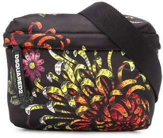 DSQUARED2 Floral Print Belt Bag