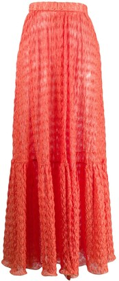 Missoni Mare Knitted Maxi Skirt