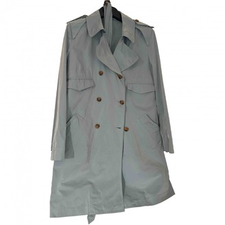 Ermanno Scervino Grey Trench Coat for Women