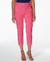 Charter Club Petite Scalloped-Hem Capri Pants, Created for Macy's