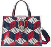 Gucci Dionysus cubic python top handle bag